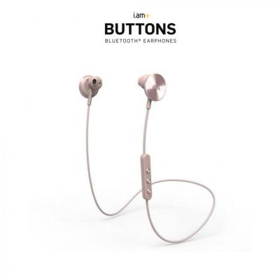 i.am+ BUTTONS wireless Bluetooth earphones-Rose