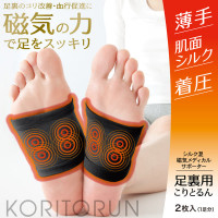 Alphax Koritorun Magnetic Feet Supporter-Black(2pc) AP-429906