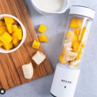 BEVVO Wireless Portable Blender Cup - White