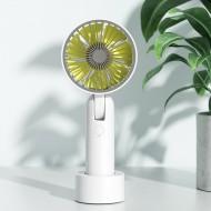 Benks F17 Desktop & Handheld Fan - White