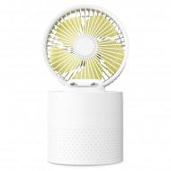 Benks F18 Humidifier USB Fan - White