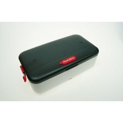 Faitron HeatsBox Life Smartest Heating Lunchbox - Black