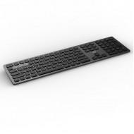 FORTER iK8300 WIRELESS KEYBOARD 2.4+BT4.0 , FULL SIZE - Black