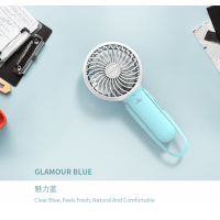 HONGPAI Pole Style Portable Fan - Blue (HP-829)