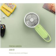 HONGPAI Pole Style Portable Fan - Green (HP-829)