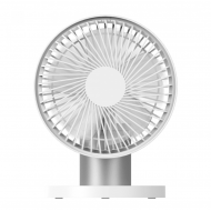 HONGPAI Aluminum Stand Desktop Fan - White (HP-867)