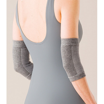 Hayashi Knit Charcoal Elbow Support