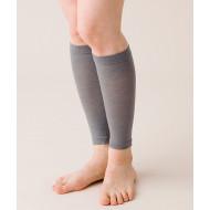 Hayashi Knit Charcoal Compression Shin Support
