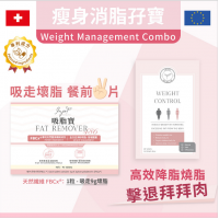 INJOY Health - Weight management combo (Weight Control x 1 + Fat Remover x 1)