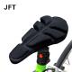 JFT BC-334 Bike Saddle Pad-Black(S Size)