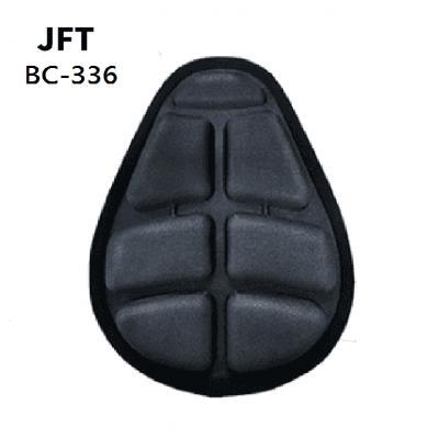 JFT BC-336 Bike Saddle Pad-Black(L Size)