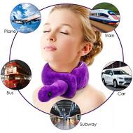 Lomitech Vibration Neck Wrap Pillow (Purple)