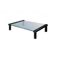 MEC - TB501B Multi-purpose Glass / Monitor Stand - Black(35 x 25.2 x 9cm)