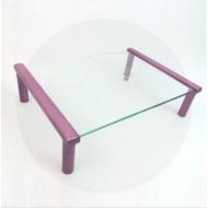 MEC - TB501VC Multi-purpose Glass / Monitor Stand - Pearl Purple  (35 x 25.2 x 9cm)