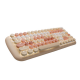 MOFII CANDY M Wired White Light Mechanical Keyboard-Apricot(780-4048)