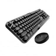 MOFII SWEET 2.4G Wireless keyboard mouse combo set - Black (780-4011)