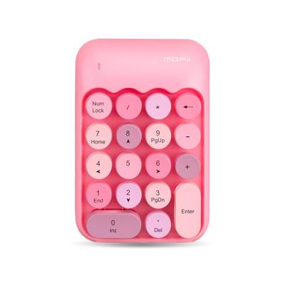 MOFii X910 CANDY COLORFUL WIRELESS KEYPAD - Pink