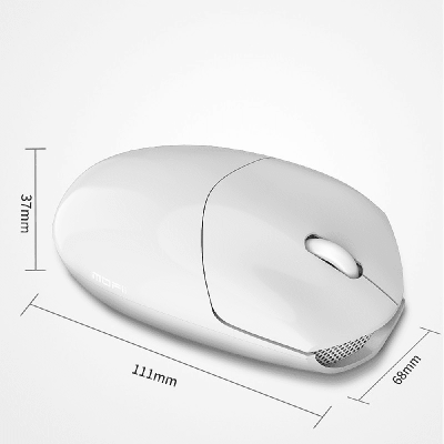 MOFII SM-398 BT Bluetooth Mouse - White (780-4038)