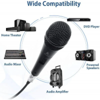 MAONO Professional Dynamic Cardioid Vocal Wired Microphone (AU-K04)