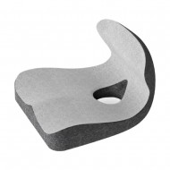 MedS Support Seat Cushion with Lumbar Support (Light Grey+Dark Grey)