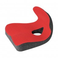 MedS Support Seat Cushion with Lumbar Support (Red + Grey)