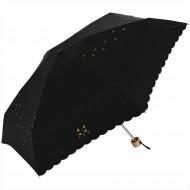 Nifty Colors Cats Steps Mini Umbrella-Black