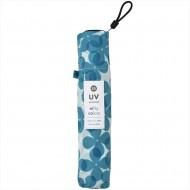 NIFTY COLORS Smart Light Flower Layer Carbon Mini Umbrella - Blue