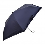 NIFTY COLORS Lace Hook Trifold Umbrella - Navy
