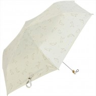 NIFTY COLORS Sun shade cat & fluff flat mini - White