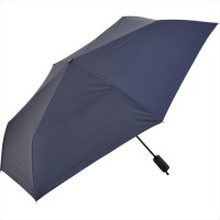 NIFTY COLORS Automatic Opening and Closing Trifold Umbrella- Navy