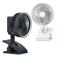 OCUBE D607 Clamping Table mini Fan - White