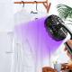 Portable UV LED Handheld Fan Sterilizer