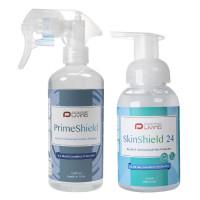 Primeliving PrimeShield Residual Antimicrobial Surface Protector 300ml+SkinShield 24 Residual Antibacterial Skin Protector 250ml