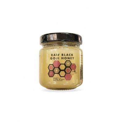 Pure Honey Raw Black Goji Honey 120g