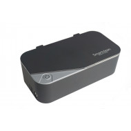 (Limited)SMARTCLEAN Eyeglasses Ultrasonic Cleaner Version 7 Upgrade version Dark Grey