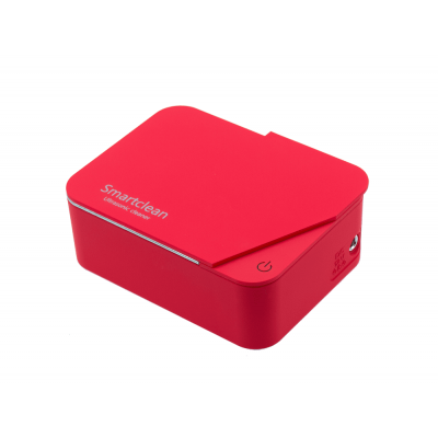 SMARTCLEAN Ultrasonic Cleaner Jewelry.6 - Red