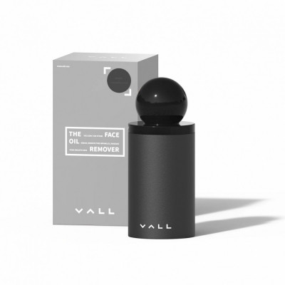 Korean VALL Face Oil Remover - Sphere Black (2pcs)