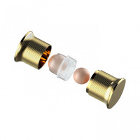 Korean VALL Face Oil Remover - Square Gold (2pcs)