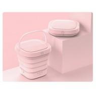 Yohome portable folding washing machine - Pink