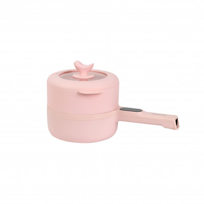 Yohome 2nd Gen upgraded Smart Touch Screen Non-stick Electric Cooker - Pink