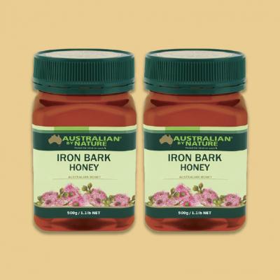 [2pcs Pack] Australian By Nature Iron Bark Honey 500g