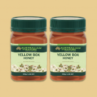 [2pcs Pack] Australian By Nature Yellow Box Honey 500g