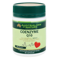 Australian by Nature Coenzyme Q10 (+ BioPerine) 150mg 90 capsules