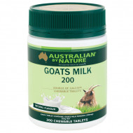Australian by Nature Goats Milk 200mg 300 Tablets Variety - Natural(Clearance)