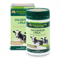 Australian by Nature Colostrum Milk (Vanilla flavour) 50lgG - 250 Tablets(Clearance)