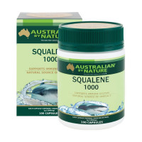 Australian by Nature Squalene 1000mg 100 Capsules