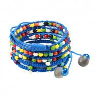 Audiopark Audiowrap In-ear Headphone - Blue Rainbow