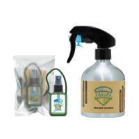 Ensure Guard Combo of 20ml Handy Refillable Pack and 280ml Aluminium Spray Bottle
