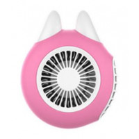 OUTLINES Turbo USB Charging Handheld Small Fan-Pink