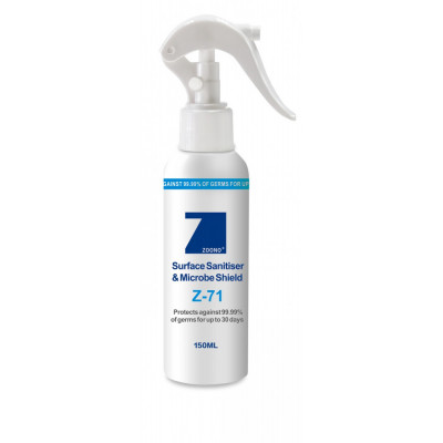 ZOONO Z71 Surface Sanitiser Microbe Shield 150ml